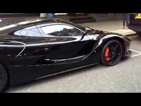 Black LaFerrari in London - YouTube