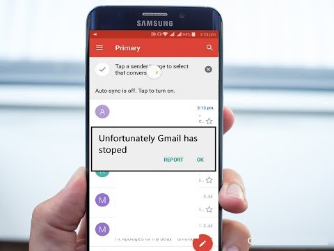 Fix All Gmail App Problems In Android Phone (Unfortunately Gmail Has Stopped)