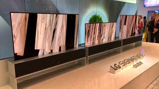LG Signature OLED R - Rollable TV  @ IFA Berlin