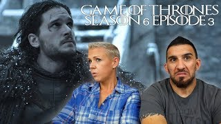 Game of Thrones Season 6 Episode 3 'Oathbreaker' REACTION!!