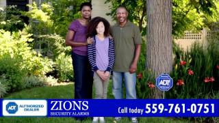 Home Security System in Fresno, CA - ADT Authorized Dealer - Zions Security Alarms
