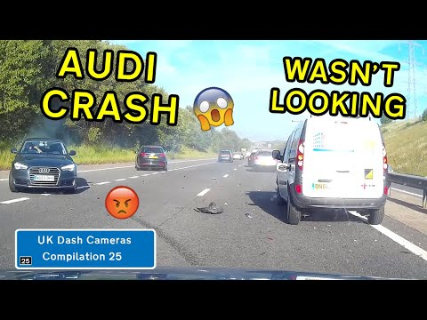UK Dash Cameras - Compilation 25 - 2020 Bad Drivers, Crashes + Close Calls