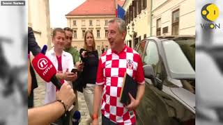 FIFA World Cup 2018: Croatia cabinet meets in soccer team jerseys