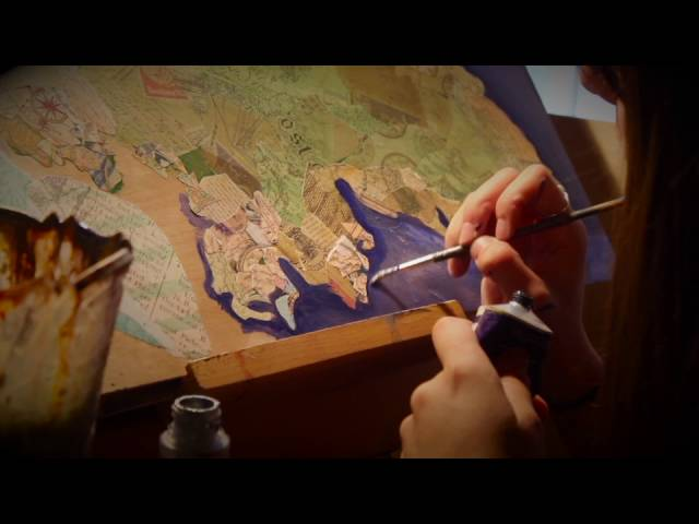 Homeland© Painting Process