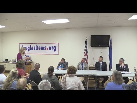 Douglas County Sheriff Candidates Forum, 2018