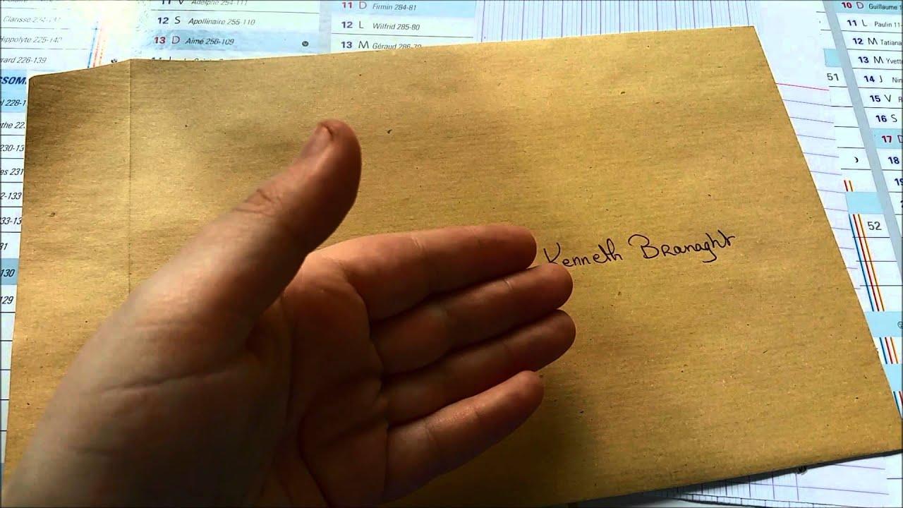 Comment Envoyer Une Lettre Harrypotterautographes Com