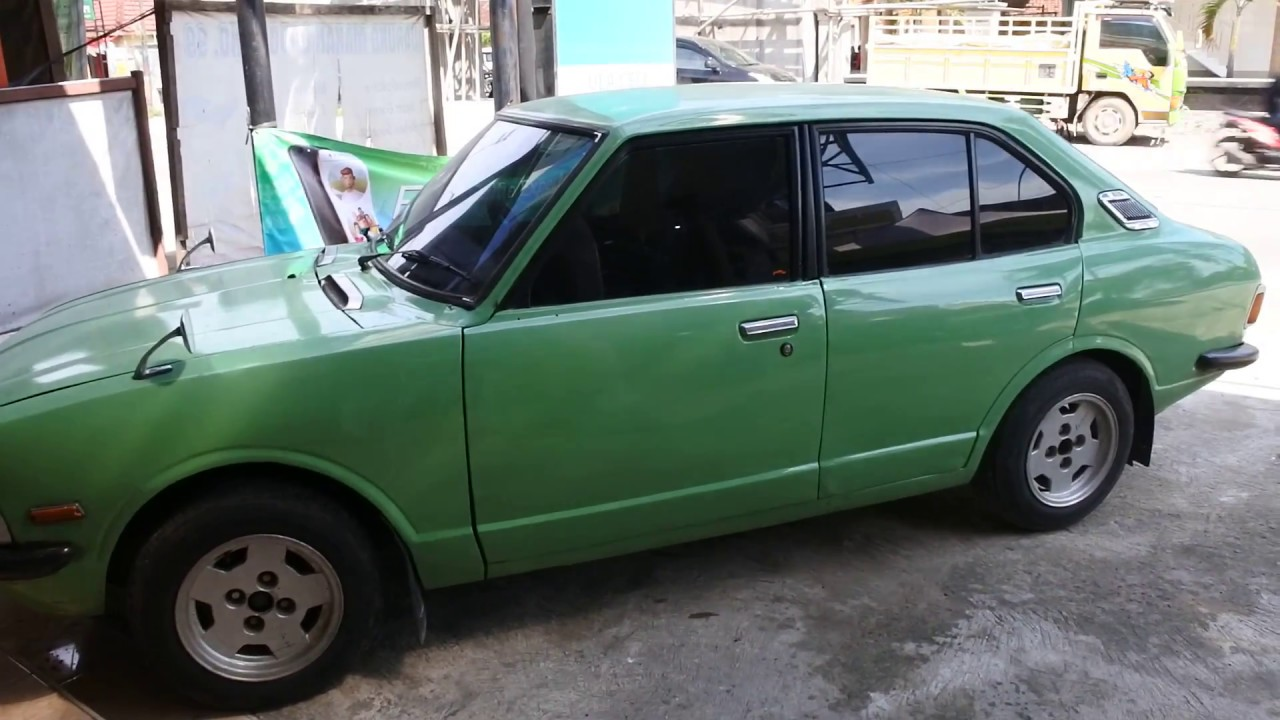 Old Toyota Corolla 1974 Youtube