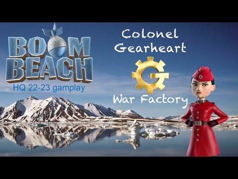 Boom Beach Colonel Gearheart's War Factory (2 July 2020)