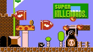 Bullet Bill in Super Mario Bros. (Super Killer Bros.) • Super Mario Bros. ROM Hack