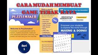 MEMBUAT GAME TEBAK KATA DAN MENEMUKAN PESAN TERSEMBUNYI (HIDDEN MASSAGE) screenshot 5