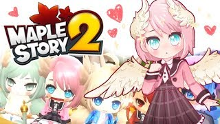 MAPLESTORY 2 CLOSED BETA ❤
