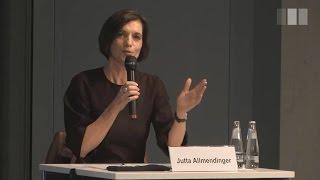 """""""Gesellschaft der Angst"""" mit Heinz Bude und Jutta Allmendinger"""