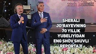 Sherali Jo'rayevning 70 yillik yubeliyidan eng shov shuvli reportaj!