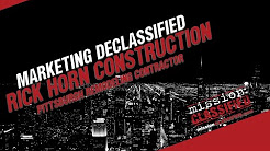 [marketing declassified] Rick Horn Construction Pittsburgh Remodeling Contractor