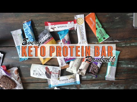 every-keto-protein-bar-ranked!-updated-for-2019