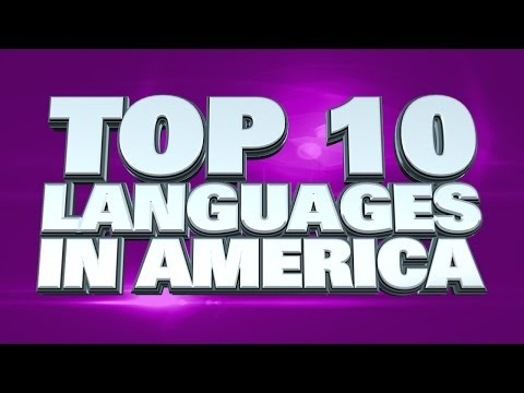 Top 10 Languages in the USA 2014