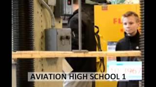 2013 Popsicle Stick Bridge Competition - Breaking The Bridges: Aviation High School 1