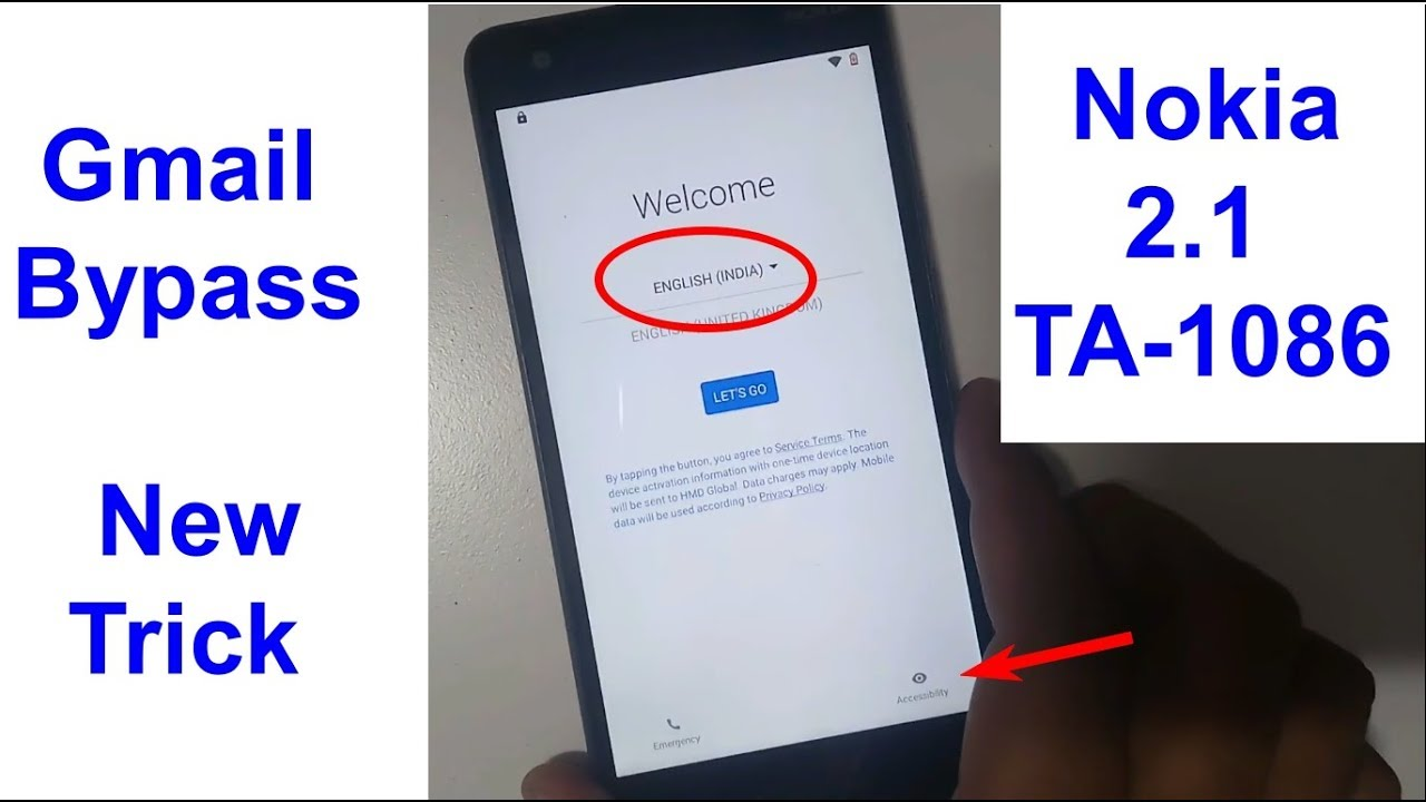 Nokia 2 1 TA 1086 Gmail Bypass And Frp Reset New Trick