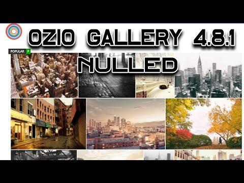 Ozio Gallery 4.8.1 нет лимита и копирайта | No Limit Photo And Copyright
