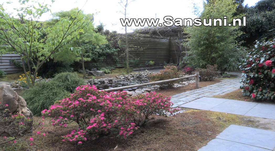 Zen Tuin Aanleggen : Sansuni japanse tuinen youtube