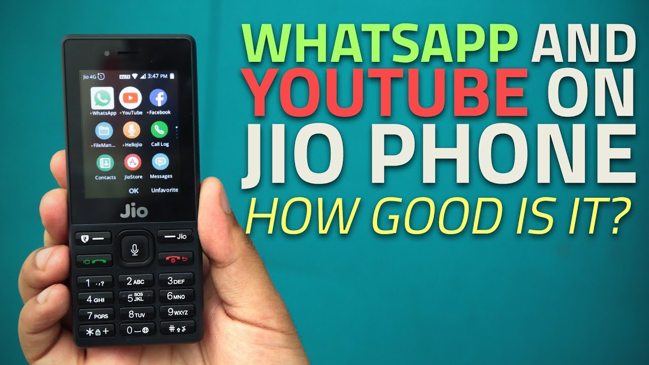 Whatsapp And Youtube On Jio Phone Hands Impressions Mobile Circuit Board History