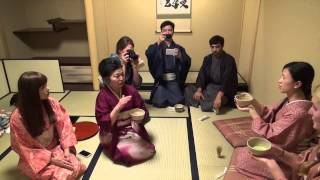 The Third Festival of Japan Culture Academy in Tokyo : Tea ceremony and flower arrangement 02