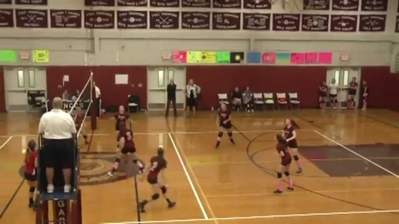 NCCS - Beekmantown JV Volleyball  10-13-15
