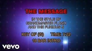 Grandmaster Flash And The Furious 5 - Message (Karaoke)