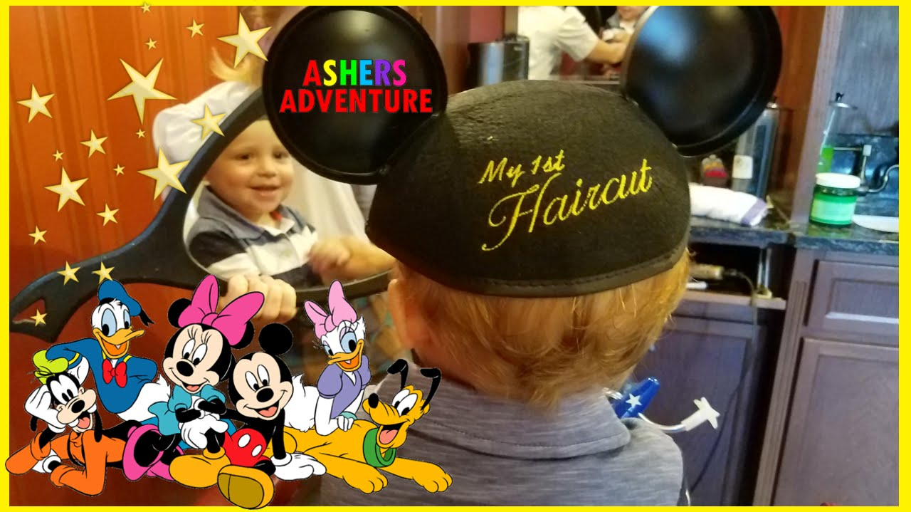 Babys First Haircut Disney World Youtube