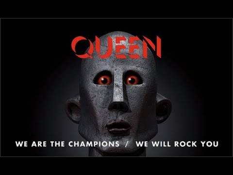 """[410] We Are The Champions/We Will Rock You - 12"""" Vinyl Single (2017)"""