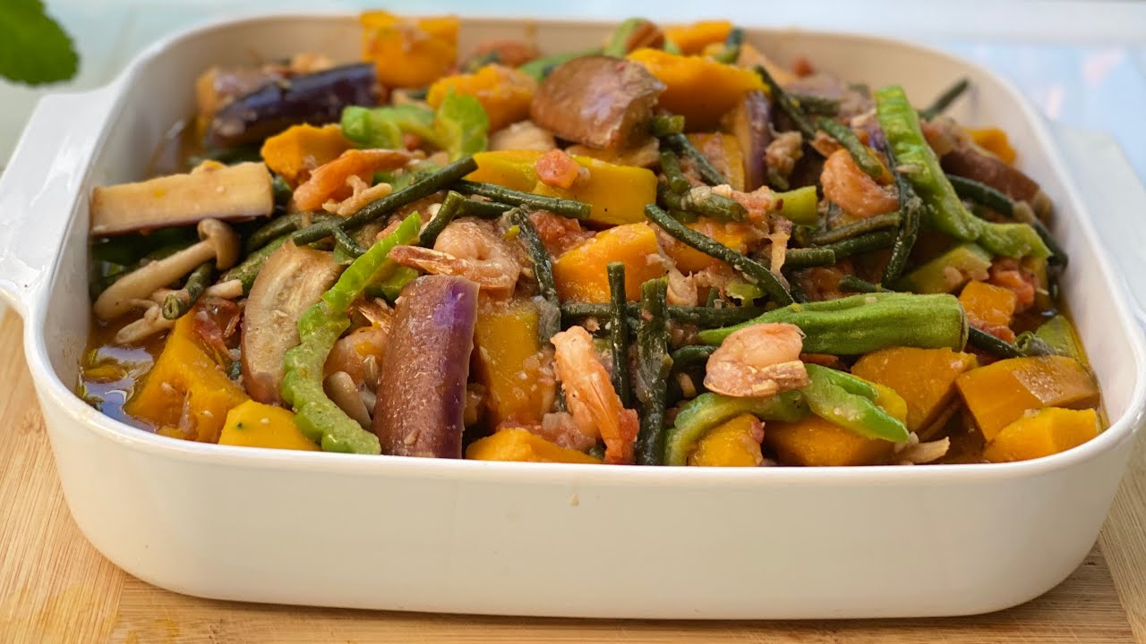 Pinakbet With Shrimp Ilocano Style Youtube