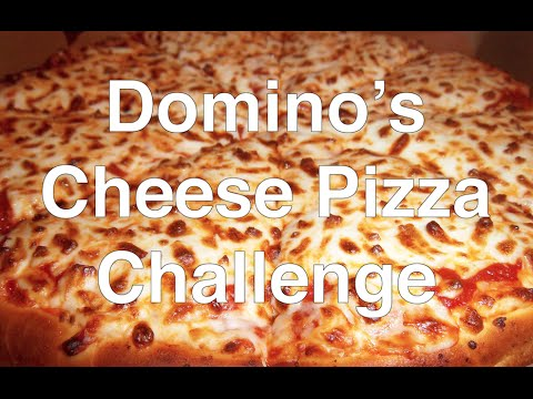 MUKBANG: Domino's Cheese Pizza Eaten in Under 2 Minutes
