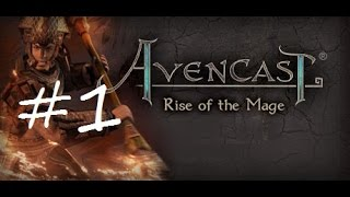 Let's Play Avencast: Rise of the Mage Episode 1 - Battle!