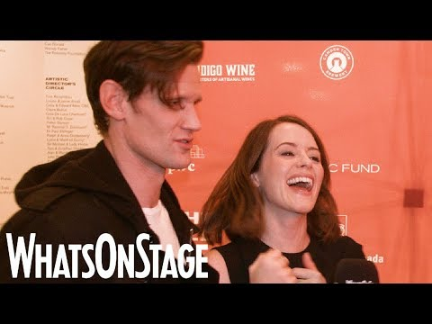 Claire Foy And Matt Smith In Lungs | Opening Night Interview At The Old Vic With Andrew Scott