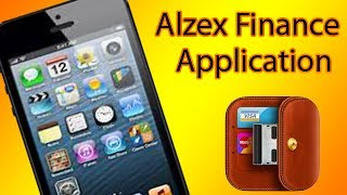 Track Finances Using iOS Devices: Alzex Finance