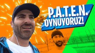 P.A.T.E.N. Burak Uslu VS Alphan Ecevit! (Kaybeden Paten İle Handraile Grind  Atacak!)