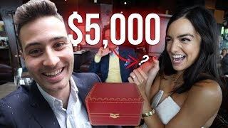SURPRISING MY FIANCÉ WITH A GRADUATION GIFT! *priceless*