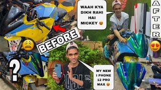 Mickey Is Ready & I Have Bought New I Phone 12 Pro Max 😍 || Uman Sayyed