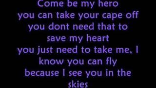 Wonder Woman - Chris Brown Ft. Tyga + HD Lyrics On Screen