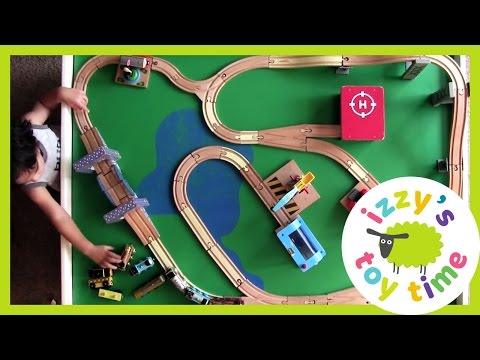 Thomas and Friends Train Play Table with 5 New Tracks! Playing with Toy Trains for Kids!