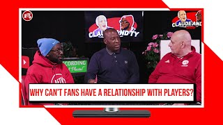 Why Can't Fans Have A Relationship With Arsenal Players? | Claude & TY Show - FT Kevin Campbell