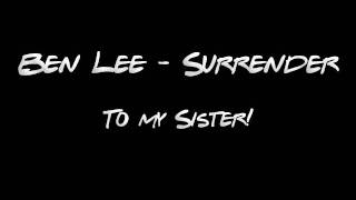 Watch Ben Lee Surrender video
