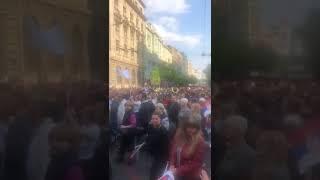"""Građani stižu na miting """"Budućnost Srbije"""""""