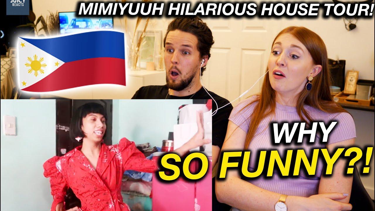 Mimiyuuuh PHILIPPINES HOUSE TOUR! Hilarious Reaction
