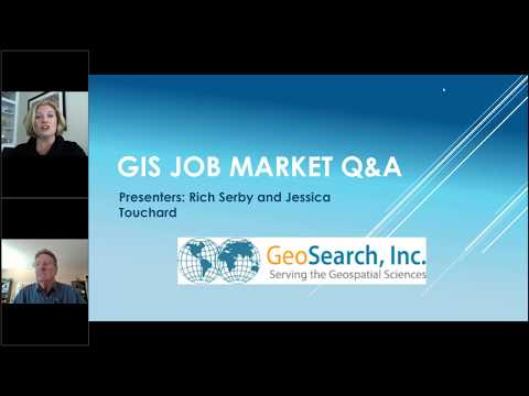 GIS Job Market Q&A By Rich And Jessica From GeoSearch