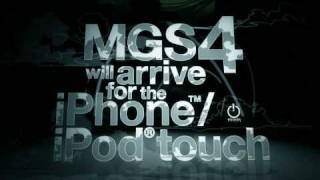 Metal Gear Solid Touch gameplay trailer from Konami (iPhone)