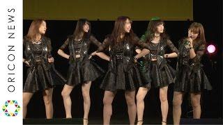 アイドルグループ・℃-uteが28日、神奈川・クラブチッタでシングル「To T...