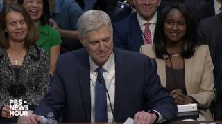 Watch Judge Neil Gorsuch