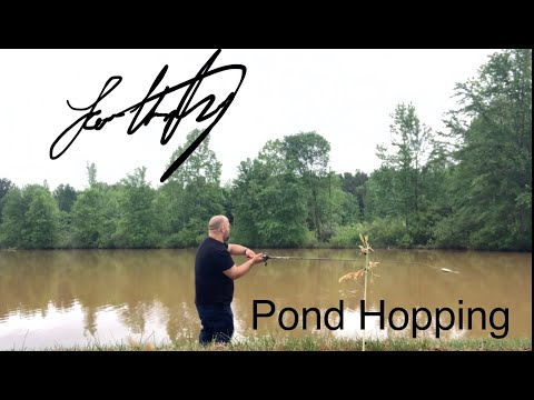 Pond Hopping In Spartanburg SC.  This Is What Happens When You Don't Pay Attention!