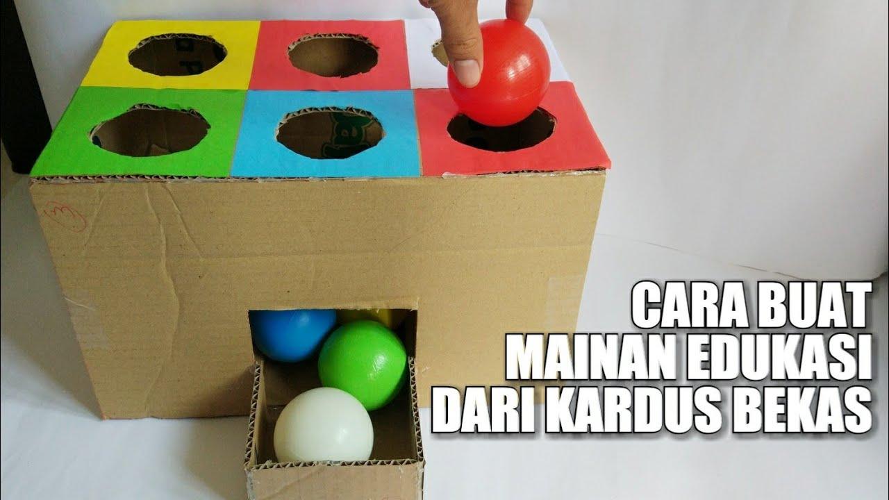 Cara membuat Mainan edukasi untuk anak 1-5 thn, (how to ...
